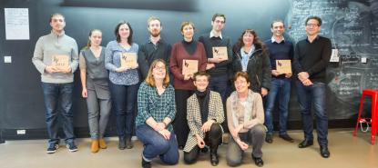 Les lauréat.e.s du prix IN2017 et le jury