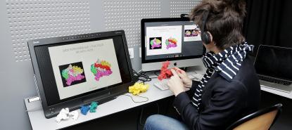 Modélisation de protéines 3D