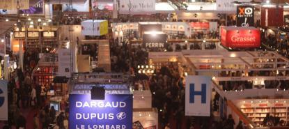Salon du livre de Paris en 2014