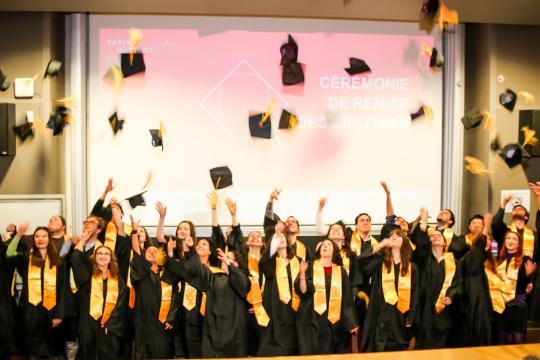 Cérémonie de remise des diplômes 2019